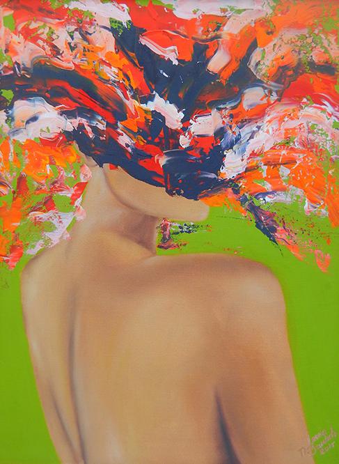 Lamia M. Berrada, Painter